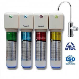 אקווה אופטימה - AquaOptima מערכת טיהור מים 4 שלבים | מסנן מים